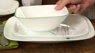Corelle - Shadow Iris 16 Piece Dinnerware Set