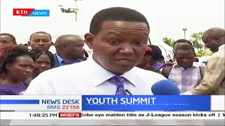 Machakos county holds social and economic empowerment conference for youths at the people's park