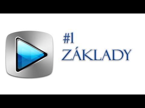 ZÁKLADY | Sony Vegas Pro 13.0 | Tutorial #1