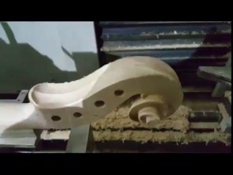 CNC violin making machine, CNC router for violin instrument