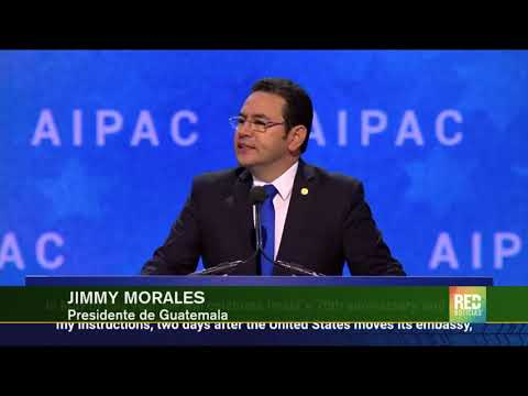 RED+ |Guatemala reconoce a Jerusalén como capital de Israel