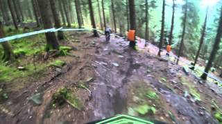 preview picture of video 'Off Saison training at  Bikepark Bad Wildbad'