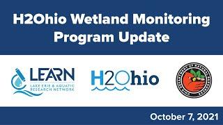 H2Ohio Wetland Monitoring Program Update