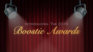 Introducing The 2016 Boostie Awards!