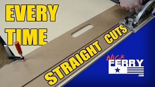 Ⓕ DIY Track Saw   Quick, Cheap & Easy   Door Board (ep60)