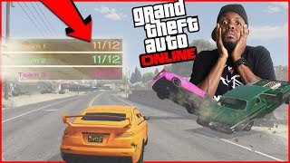 Salty Trash Talk Leads To Unbelievable Finish... (GTA 5 Funny Moments)