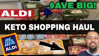 ALDI Grocery Haul - Eating Clean Keto on a Budget (Including RIBEYE!)