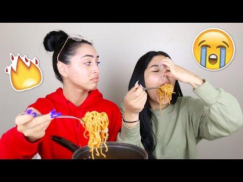 Spicy Noodle Challenge | Daisy Marquez