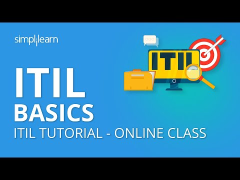 ITIL Basics | What is ITIL? | ITIL Tutorial - Online Class