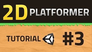 3. How to make a 2D Platformer - Parallax Scrolling - Unity Tutorial