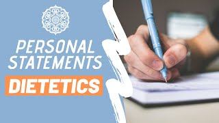 Dietetic Internship Resources: Personal Statements, Internship Tips & Advice!