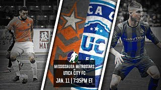 Mississauga MetroStars vs Utica City FC