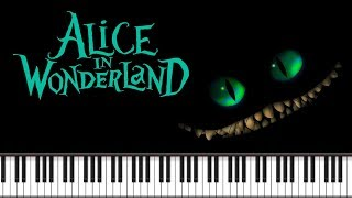 Synthesia [Piano Tutorial] Alice in Wonderland - Alice's Theme