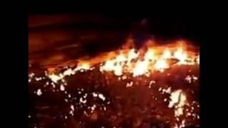 Последствия падения метеорита в Хакасии