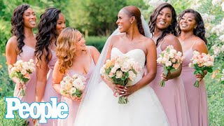 """Issa Rae Marries Longtime Beau Louis Diame in Custom Vera Wang Dress: """"So Real and Special"""" 