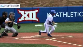 Jayhawks Fall to Texas Tech in Home Finale // KU Baseball // 5.8.16