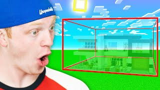 I Secretly CHEATED Using Invisible Blocks In a BUILD BATTLE!