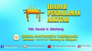 IBADAH PENDALAMAN ALKITAB 01 APRIL 2021 Pdt Daniel U Sitohan...