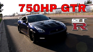 TERRORIZING The Streets in a Modified 750HP Nissan GTR (Insane Sounds!)