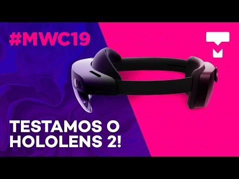 Conheça o novo óculos de realidade mista HoloLens 2