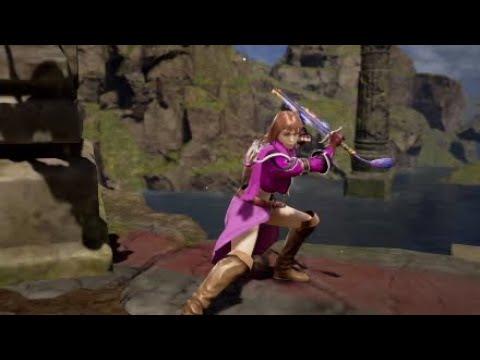 Soul Calibur 6 Character Creation-RWBY Spyder - смотреть