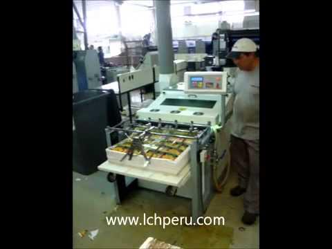 Equipo de Barnizado UV Sistema Offset + Horno UV Mod. EXP. 75
