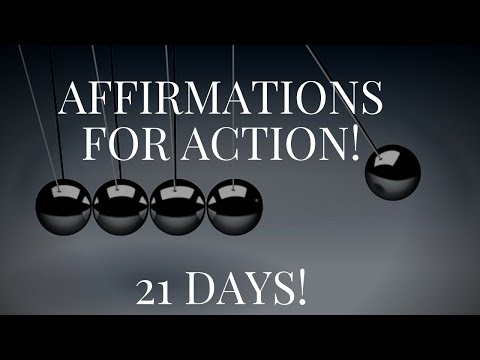 200+ Action Taking Affirmations! (Reprogram The Mind In 21 Days!) - 432Hz