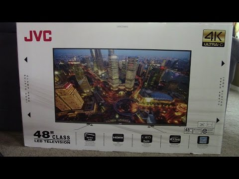 Jvc 48 inch 4k tv review