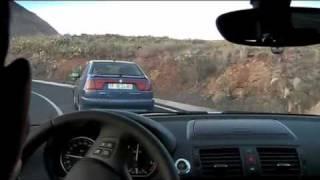 BMW 120d - Montée D'Arona (Tenerife) V2
