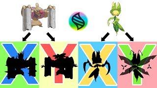Gurdurr  - (Pokémon) - Mega Conkeldurr X, Y - Mega Leavanny X, Y.