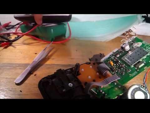 Ремонт радиотелефона Panasonic KX-TG6821 после грозы (удара молнии)