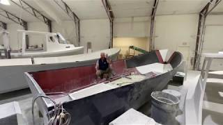 Captain Kevin walks us through the build process of an Eastern 248