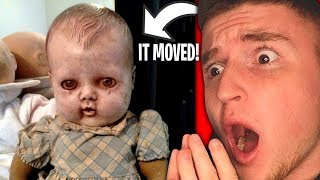 DOLL MOVES BY ITSELF.. (So Scary)