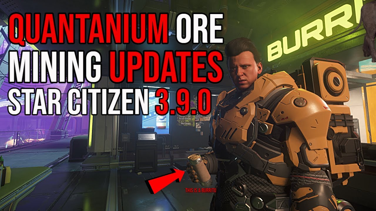 Star Citizen 3.9 | Quantanium Ore & New Mining Updates