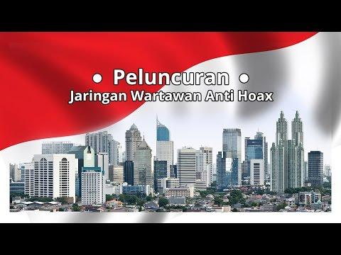 JK Pimpin Peluncuran Jaringan Wartawan Anti Hoax