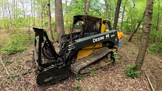 Dragging a Deere Out of the Woods.  Math, Geometry, & Physics, OH MY!!!
