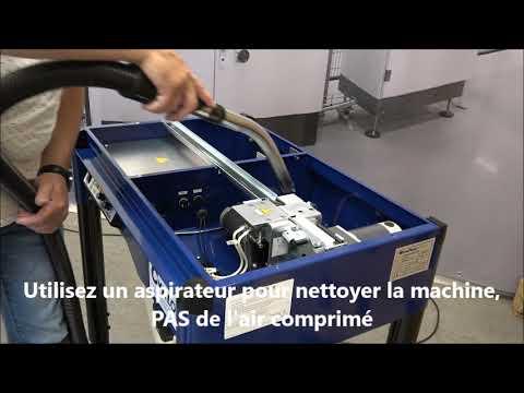 M-Pac V: Nettoyage de la machine