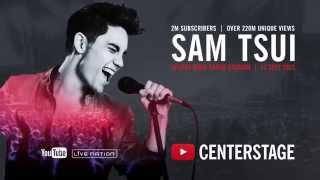 'Bring me the night' - Sam Tsui ft. Casey Breves - Live at YouTube CenterStage - 11 Sep