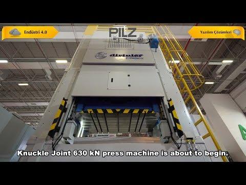PILZ&Dirinler MOPApp Endüstri 4.0 Yazılım Projesi