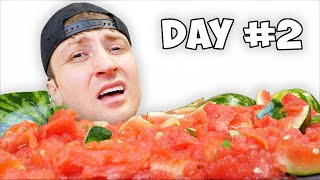 I Spent 24 Hours Straight In Watermelon