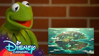 Kermit Reacts To Amphibia 🐸 | Amphibia | Disney Channel