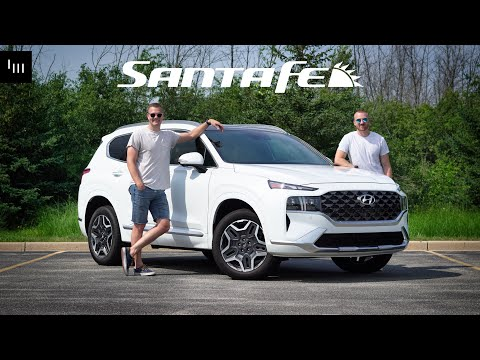 2021 Hyundai Santa Fe Calligraphy Review - The People's Mercedes