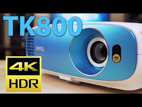 BenQ TK800 Review - Budget 4K HDR Projector Mp3