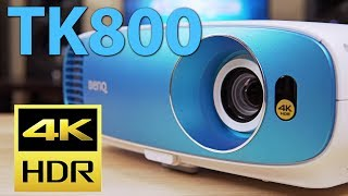 BenQ TK800 Review - Budget 4K HDR Projector