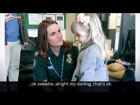 Toddler Saves Pregnant Mum With 999 Call