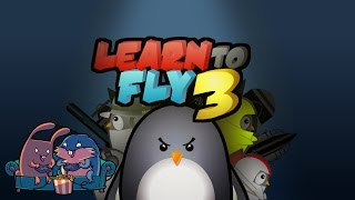 "Learn to Fly 3 ""Пингвины на орбите"" с Леммингом и Банзайцем"