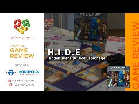 Ulasan H.I.D.E Hidden Identity Dice Espionage