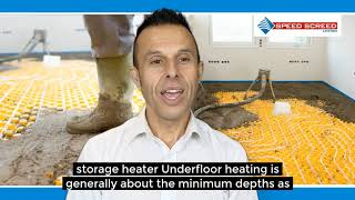 Underfloor Heating Screed Depth