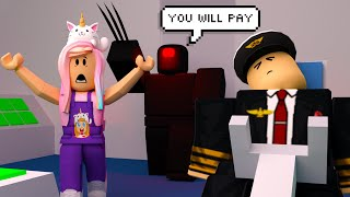 Vacation Gone Wrong! Airplane Roblox Story