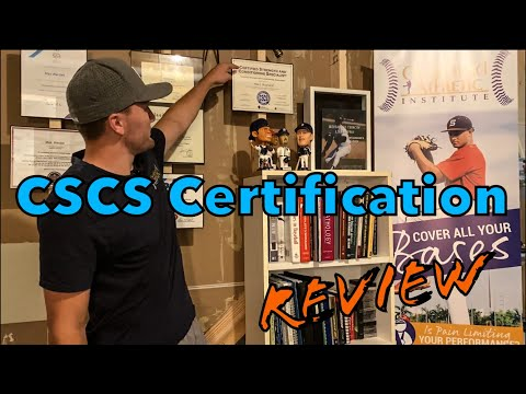 (CSCS) Certified Strength and Conditioning Specialist - Certification ...